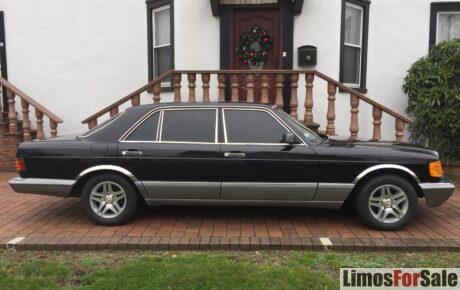 Mercedes-Benz 400SEL 1988
